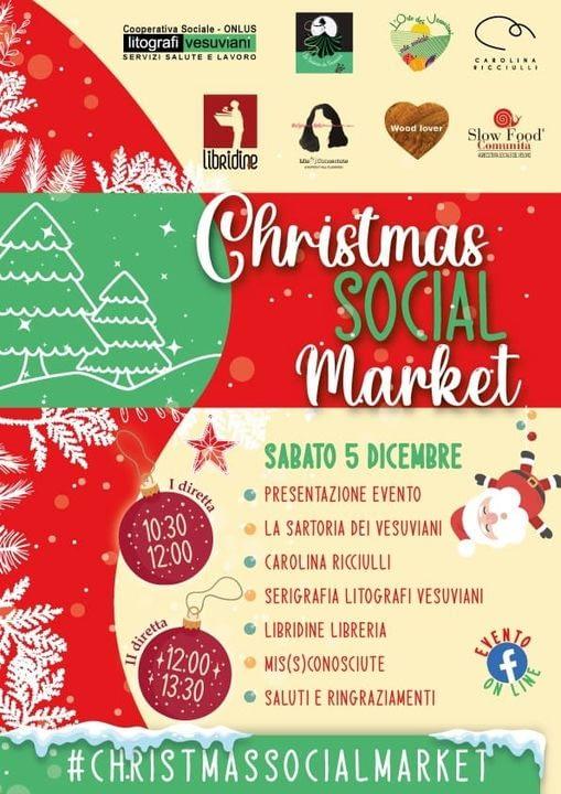 christmas social market