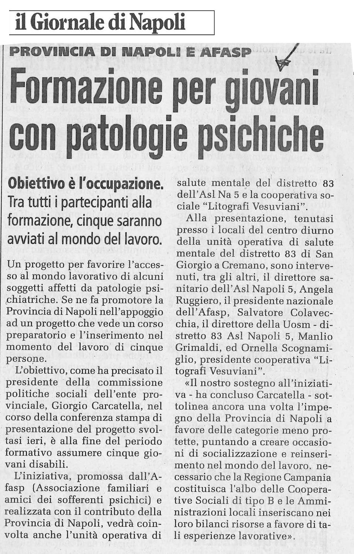 Giornale di Napoli 2003